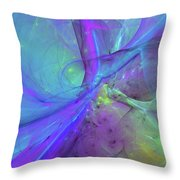 False Dimension Of Heaven Throw Pillow