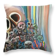 Falter Throw Pillow