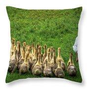 Family Jaunt Throw Pillow