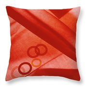 Family Of Rings Throw Pillow