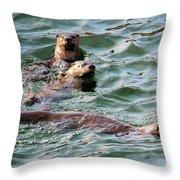 Family Play Time Throw Pillow
