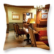 Family Room For Performers Grand Ole Opry House, Nashville, Tennessee Throw Pillow