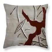 Family Smile - Tile Throw Pillow