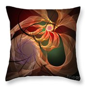 Family Ties That Bind Throw Pillow