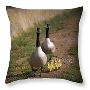 Family Time 2 Throw Pillow