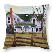 Family Wanted Throw Pillow