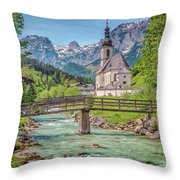 Idyllic Place To Be Throw Pillow