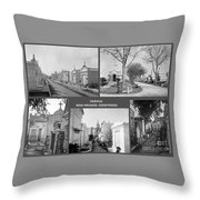 Famous New Orleans Cemeteries  Throw Pillow