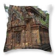 Famous Temple Banteay Srei Cambodia Asia  Throw Pillow