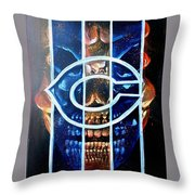 Fan Art Throw Pillow
