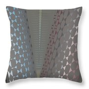 Fan Screen Throw Pillow