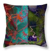 Fanciful Throw Pillow