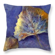 Fanciful Leaves Throw Pillow