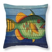Fanciful Sea Creatures-jp3826 Throw Pillow