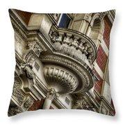 Fancy Balcony Throw Pillow