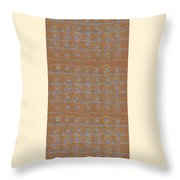 Fancy Brown Bag Throw Pillow