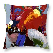 Fancy Pirate Throw Pillow