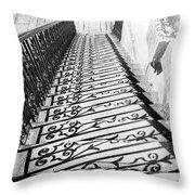 Fancy Shadows Throw Pillow