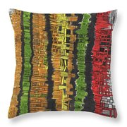 Fancy Towers Throw Pillow