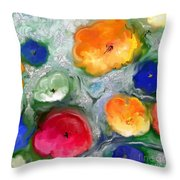 Fantaisie Florale Throw Pillow