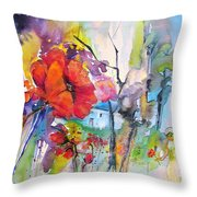 Fantaquarelle 01 Throw Pillow