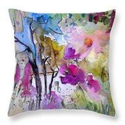 Fantaquarelle 02 Throw Pillow