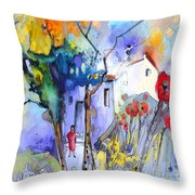 Fantaquarelle 05 Throw Pillow
