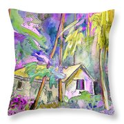 Fantaquarelle 08 Throw Pillow