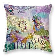 Fantasia Fantasy Throw Pillow