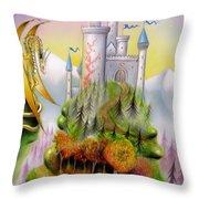 Fantasia Throw Pillow