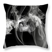 Fantasies In Smoke Iv Throw Pillow