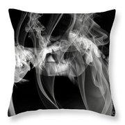 Fantasies In Smoke Iv Throw Pillow