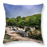 Fantastic River Throw Pillow