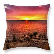 Fantastic Sky Colors Throw Pillow