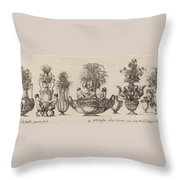 Fantastic Vases Throw Pillow