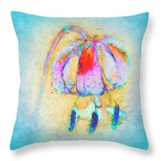 Fantastical Lily Throw Pillow