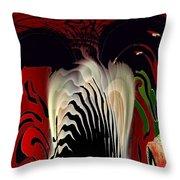 Fantasy Abstract Throw Pillow