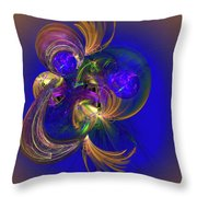 Fantasy Ball Throw Pillow