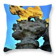 Fantasy Canyon Hoodoo Throw Pillow