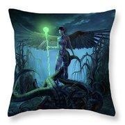 Fantasy Creatures 3 Throw Pillow
