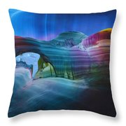 Fantasy Entrance Throw Pillow