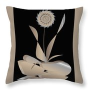 Fantasy Flower 11 Throw Pillow