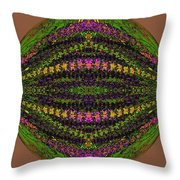 Fantasy Garden Three Throw Pillow