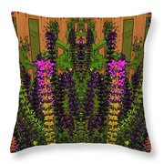 Fantasy Garden Two Throw Pillow