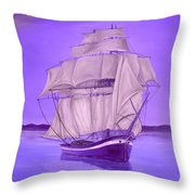 Fantasy Shade Throw Pillow