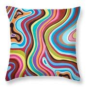 Fantasy Swirl Throw Pillow