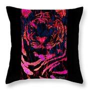 Fantasy Tiger 1 Throw Pillow