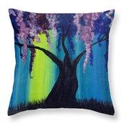 Fantasy Tree Throw Pillow