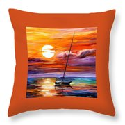 Far And Away Throw Pillow