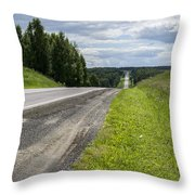 Far Away Throw Pillow